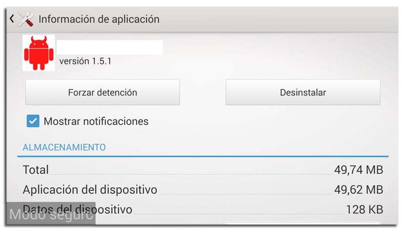 Administrador de dispositivos en Android
