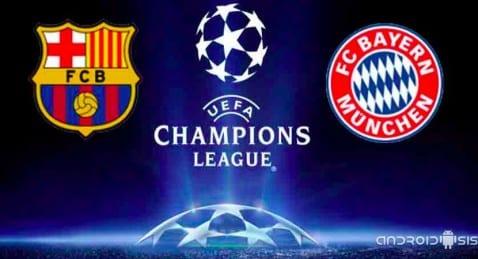Cómo ver el Barcelona Bayern de Munich