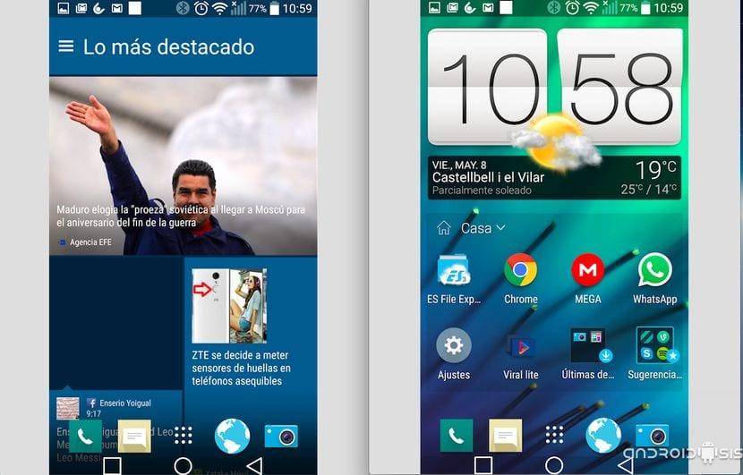 Cómo convertir tu Android en el HTC One M9