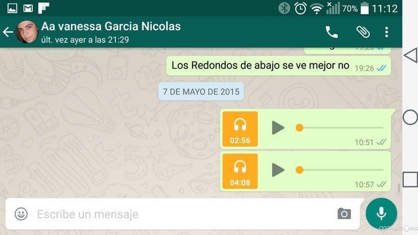 Cómo enviar archivos mp3 desde WhatsApp