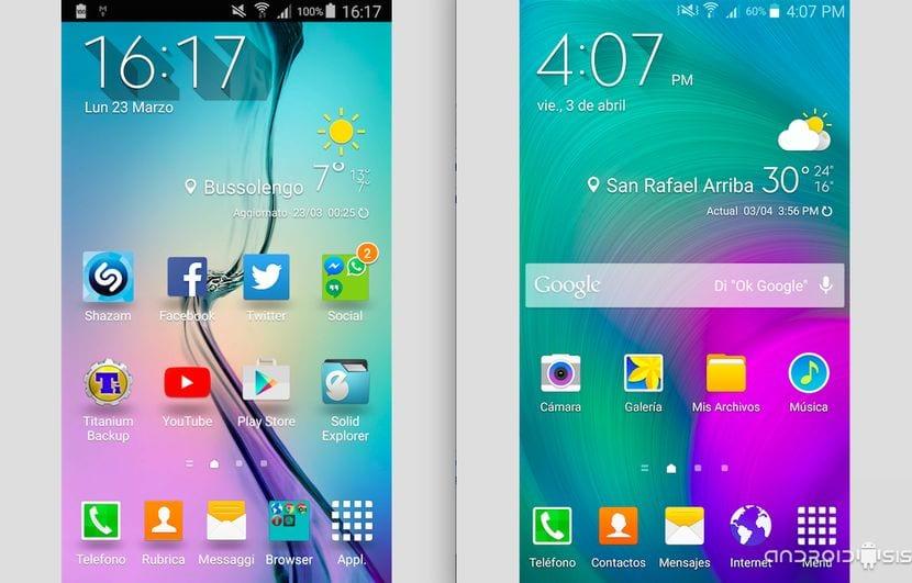 [APK] Descarga las aplicaciones del Samsung Galaxy S6 para instalar en tu Samsung