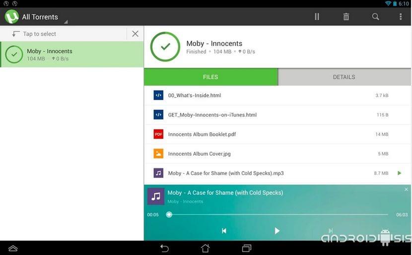 descargar utorrent para android