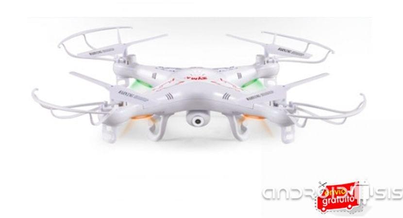 Todo un Drone con cámara HD por tan solo 79 euros gastos de envío inlcuidos
