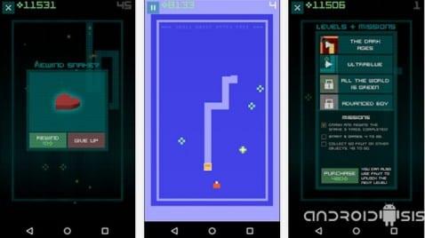 El juego de la serpiente original ya disponible en el Play Store de Google