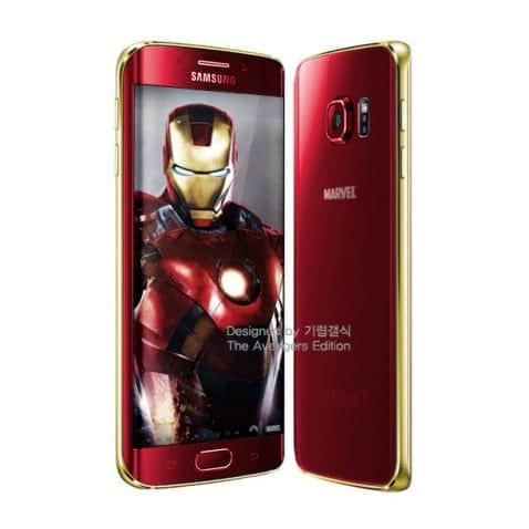 galaxy s6 s6 edge marvel