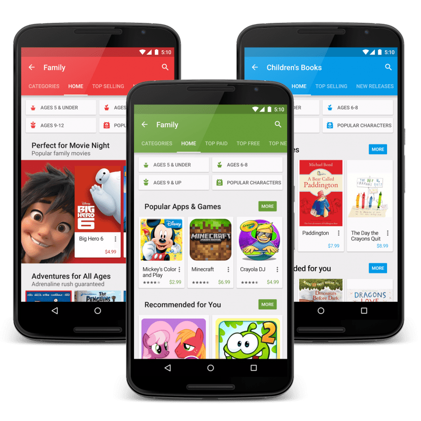 google play family