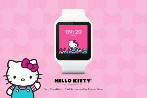 Android Wear Hello Kitty
