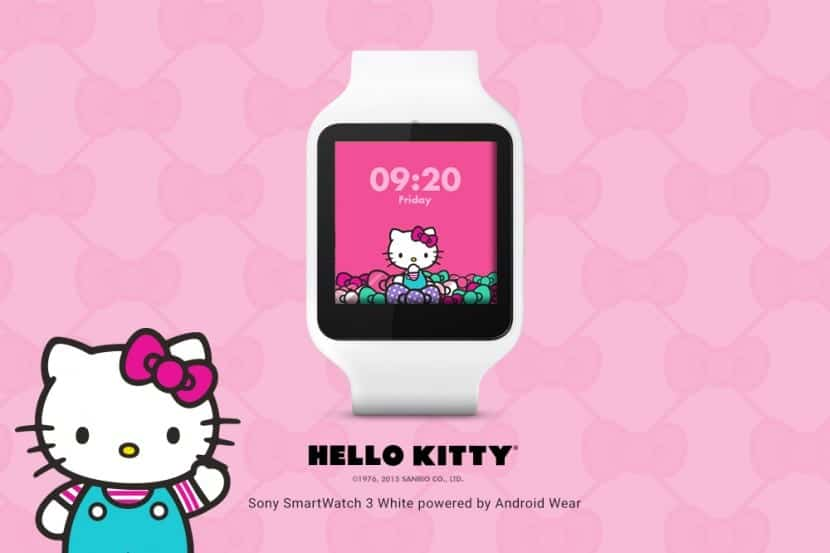 Android Wear Hello Kitty