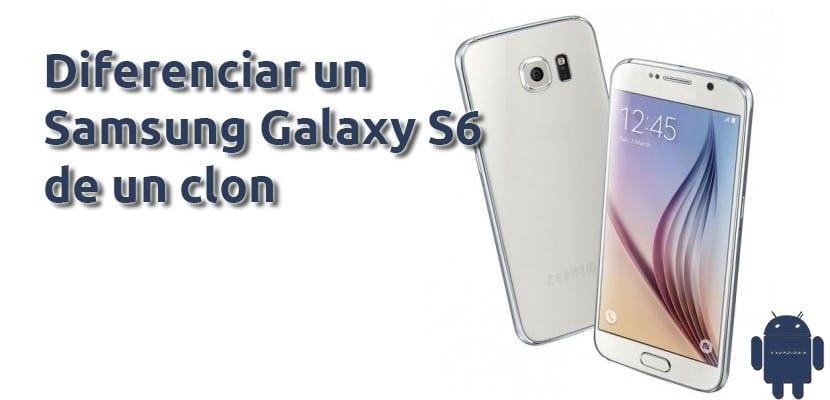 Clon del Galaxy S6 vs verdadero