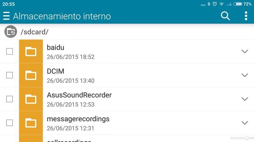 Todas las aplicaciones del Asus Zenfone 2
