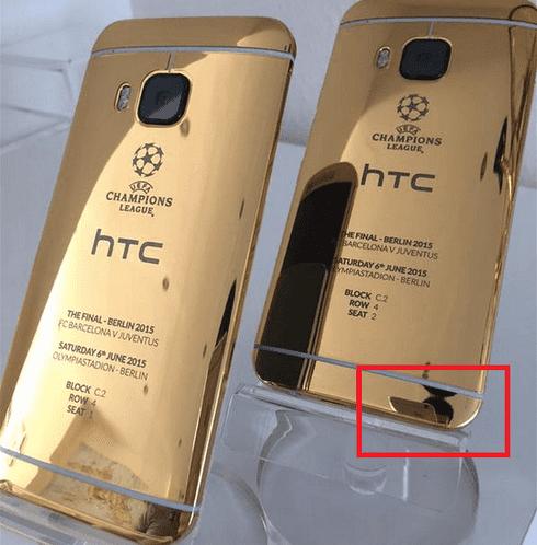 HTC one M9 fail