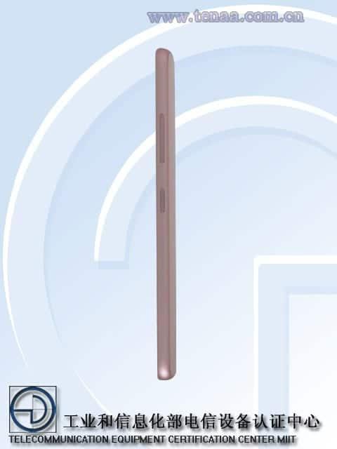 Lenovo Vibe S1 lateral