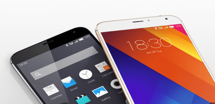 Meizu MX5 frontal
