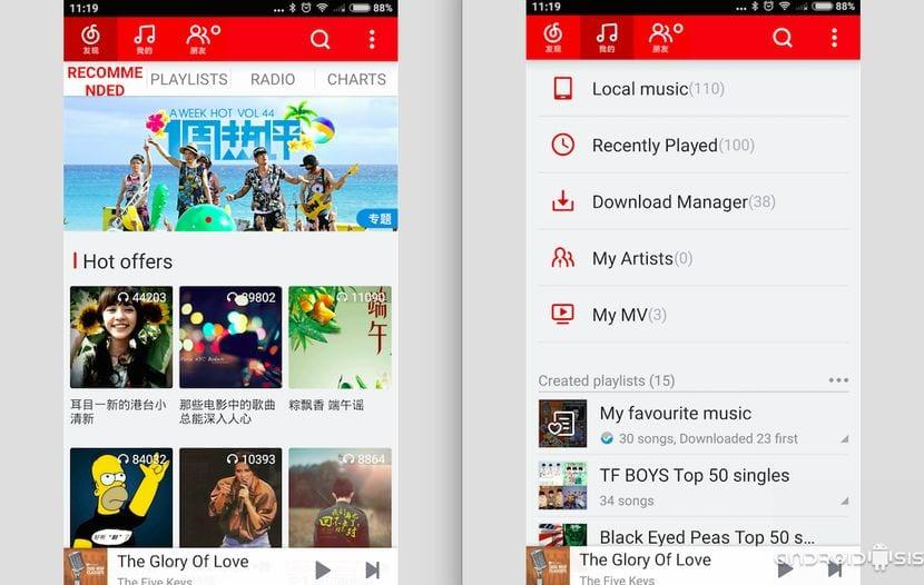 [APK] Netease Music, el Spotify chino
