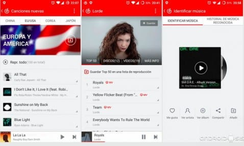 [APK] Netease Music el Spotify Chino totalmente traducido al Español