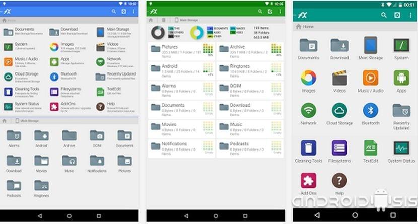Aplicaciones increíbles para Android: Hoy, File Explorer