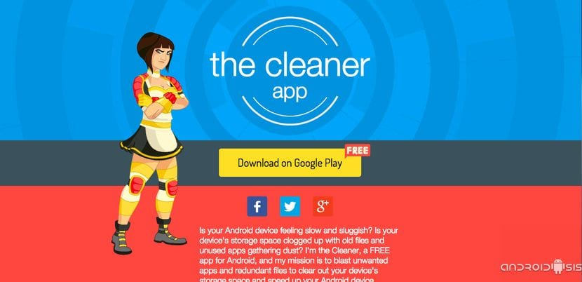 Aplicaciones increíbles para Android: Hoy, The Cleaner Boost & Clean