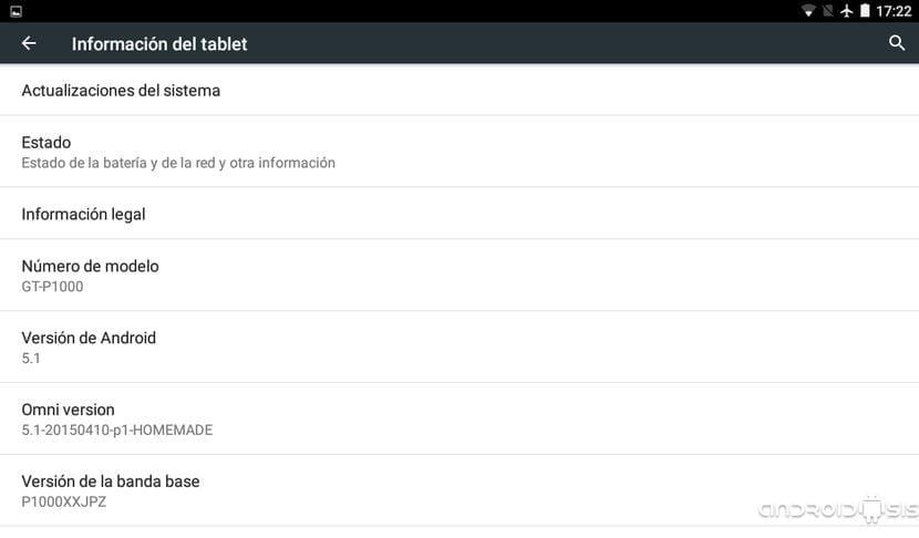 ¡¡Impresionante!! Cómo actualizar la Samsung Galaxy Tab 7 a Android 5.1.1 Lollipop (modelo P100)