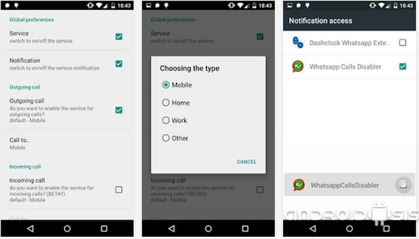 Cómo desactivar las llamadas de voz de WhatsApp