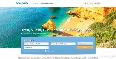 Cómo reservar billetes de avión, tren y autobús al mejor precio desde tu Android