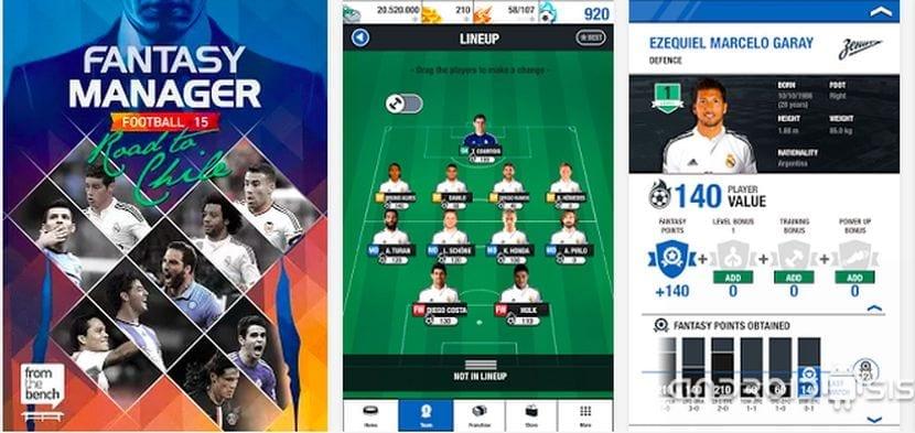 ¿Quieres ser entrenador de un equipo de fútbol de élite?. Si es así Fantasy Manager Football 2015 es tu juego para Android