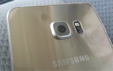 galaxy s6 edge plus trasera