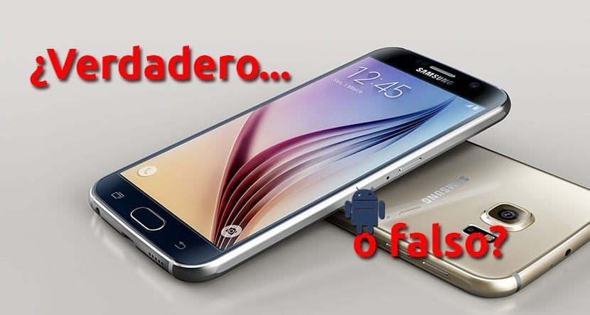Galaxy S6 falso