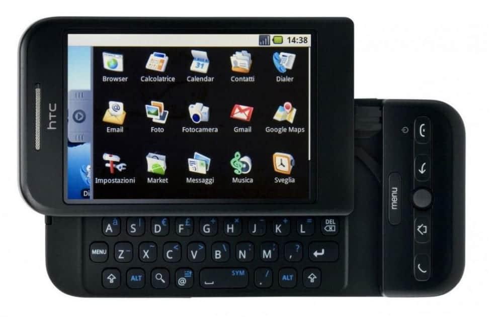 HTC Dream: Primer teléfono que salió al mercado con Android