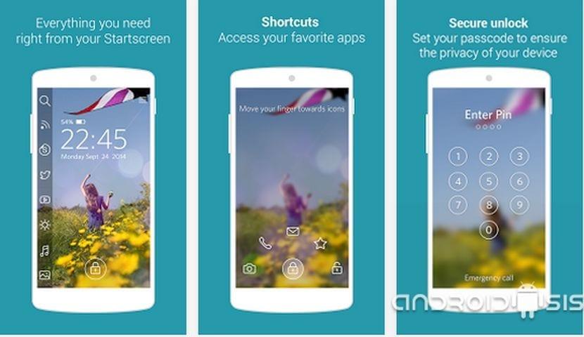 Start, uno de los mejores reemplazos para el Lock Screen de tu Android