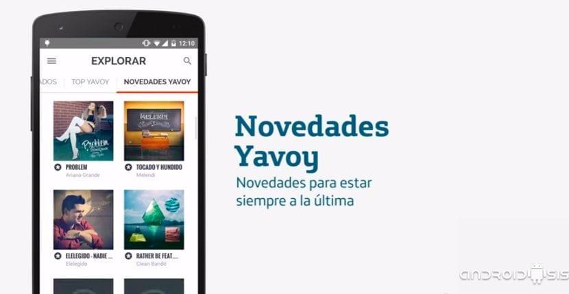 YAVOY de Movistar ahora en aplicación para Android