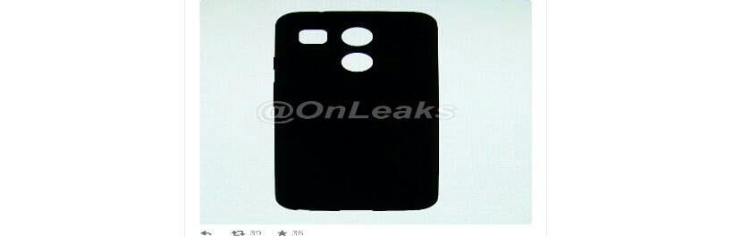 Parte trasera del nuevo Nexus 5