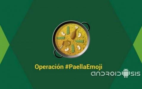 Nuevo emoticono WhatsApp paella Valenciana