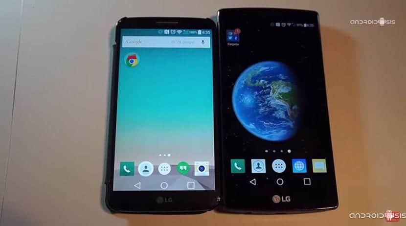 LG G2 VS LG G4