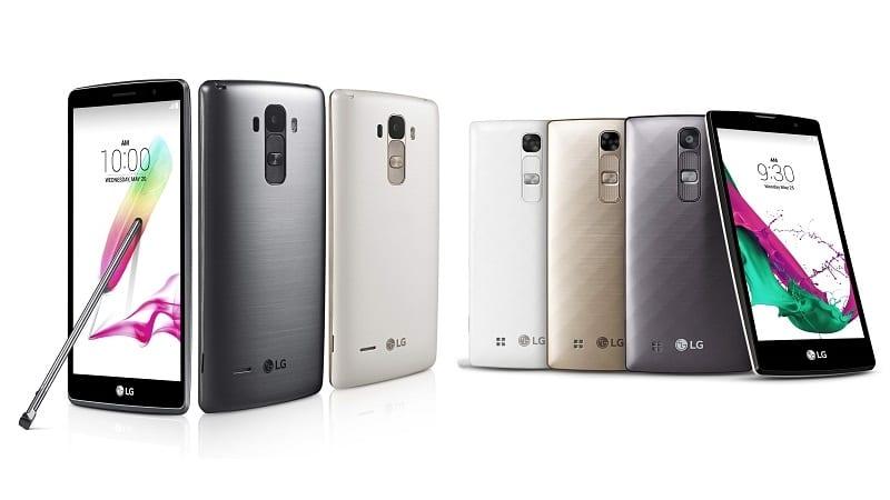 LG G4 Stylus y G4c