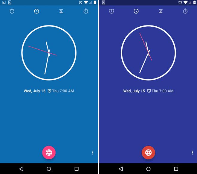aplicación reloj google