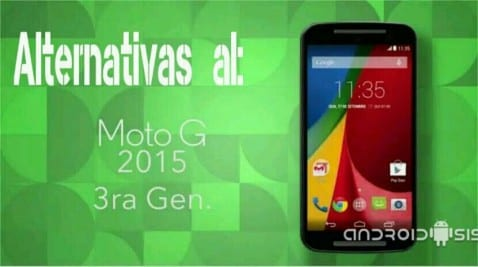Alternativas al Moto G3