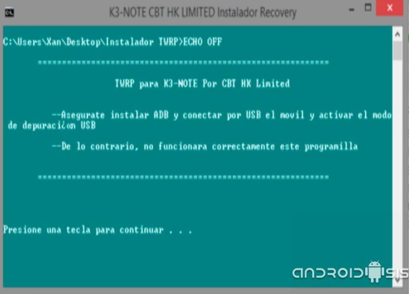 Como instalar el TWRP Recovery y Rootear el Lenovo K3 Note