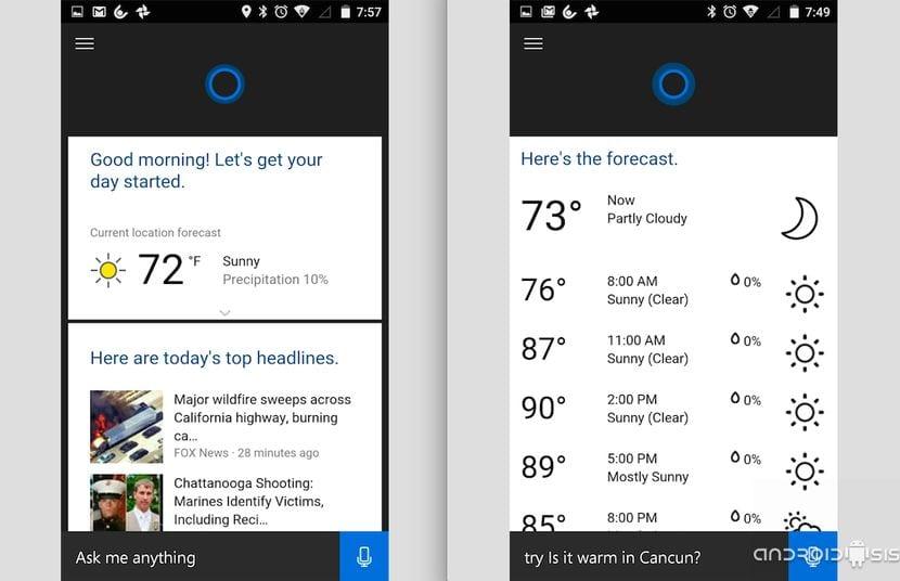 [APK] Descargar e instalar Cortana de Microsoft para Android antes de su lanzamiento oficial en Android