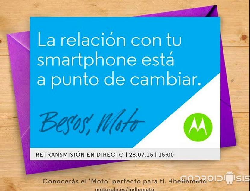 Invitación evento Motorola