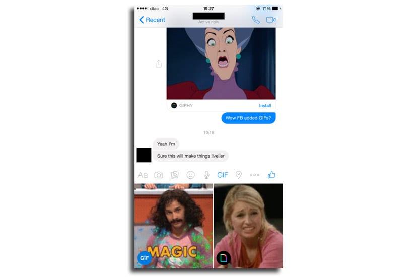 GIFs Messenger