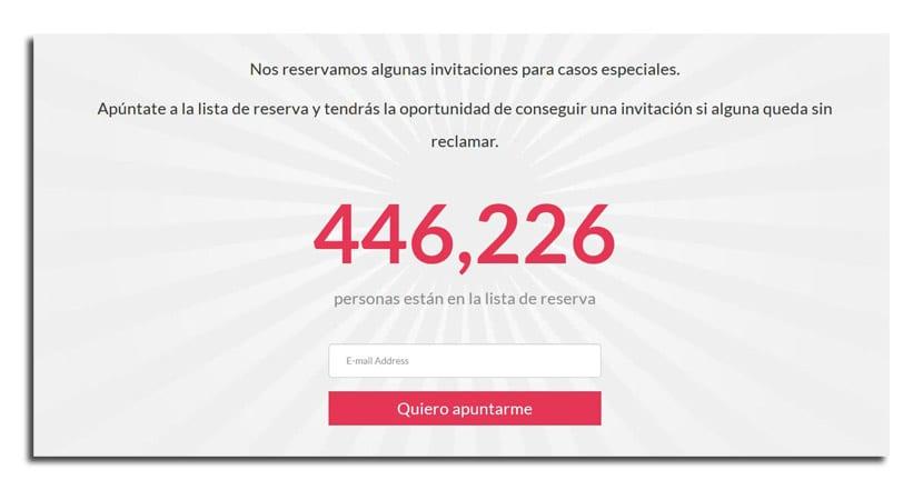 Invitaciones OnePlus 2
