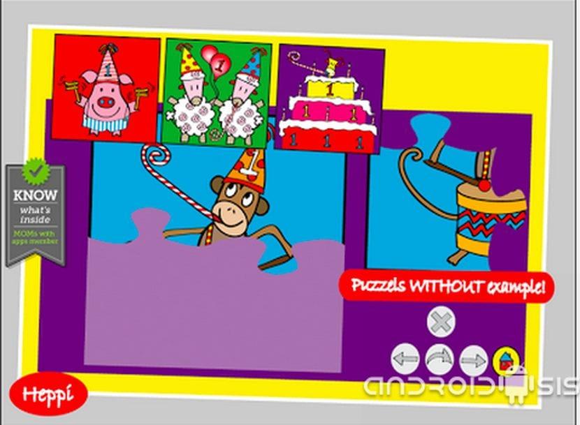 Los mejores juegos Android para niños de 4 a 8 años: Hoy, Bo's Jigsaw Puzzles