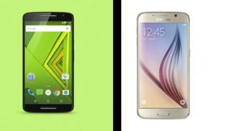 moto x play vs galaxy s6