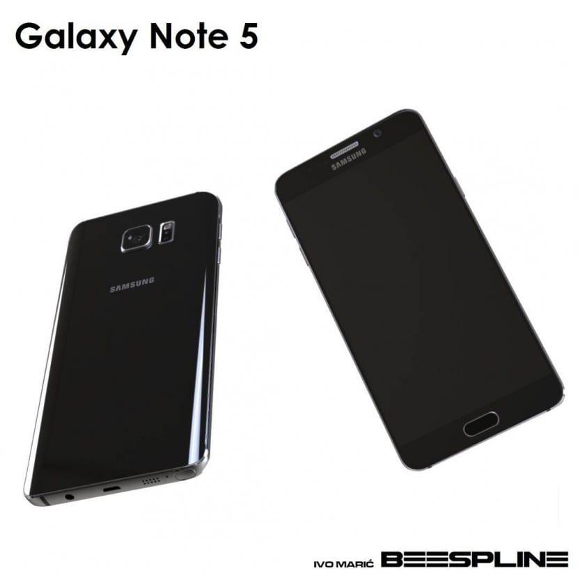 render galaxy note 5 3