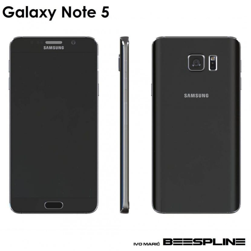 render galaxy note 5