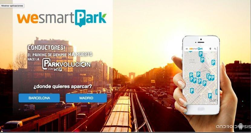 WesmartPark, para aparcar en Barcelona y Madrid fácil y barato