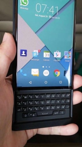 BlackBerry Vince Android