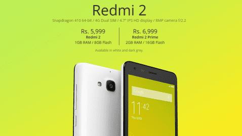 Redmi 2 Prime