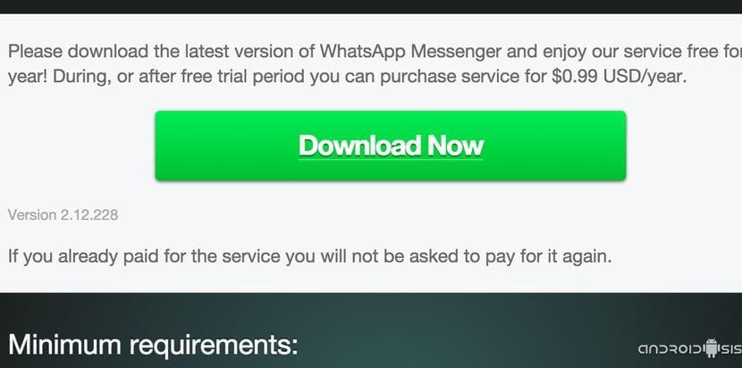 Descargar WhatsApp 2.12.228