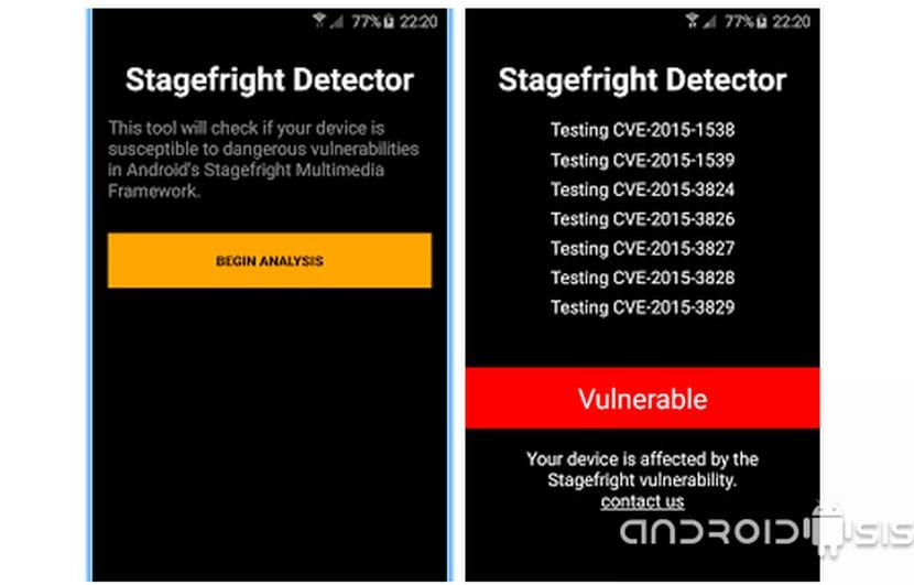 Stagefright app detector